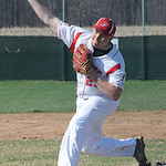 Firelands' Frank Johnson pitches. STEVE MANHEIM/CHRONICLE