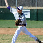 Keystone's Collin Fitzgerald pitches. STEVE MANHEIM/CHRONICLE