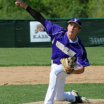 Vermilion's Josh Buchanan pitches. STEVE MANHEIM/CHRONICLE