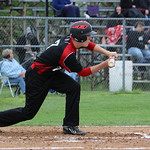 Elyria's Zack Minney looks to bunt. CHRISTY LEGEZA/CHRONICLE