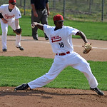 Elyria's Marques Inman pitches against Midview.  KRISTIN BAUER | CHRONICLE