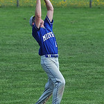 Midview short stop Cody Callaway catches a pop fly. KRISTIN BAUER | CHRONICLE
