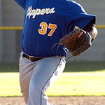 Clearview pitcher #37 Robert Branscum.