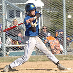 Clearview's #21 Antonio Pagan hits a double.