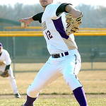 Vermilion pitcher #12 Garrett Koutsopoulos.