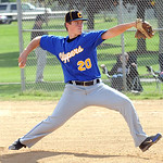 Clearview's Roger Engle pitches May 8.  Steve Manheim