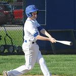 Lake Ridge Academy's Matt South hits an RBI single in the third inning April 24. STEVE MANHEIM / CHRONICLE