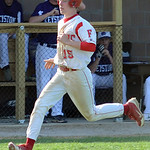 Firelands Cole Sklarek scores in third inning May 2.  Steve Manheim