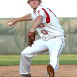 Firelands' starting pitcher #11 Brett Helton.
