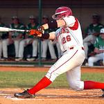 Firelands' #26 Garrett McKinney gets a hit.