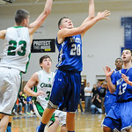 Midview's Jacob Wells gets past the block of Columbia's Kevin Simon to score. JUDD SMERGLIA/CHRONICLE