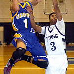 Clearview's Gerrell Williams shoots past Lorain's Demon Hisle. LINDA MURPHY/CHRONICLE