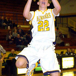 North Ridgeville's Dennis Millgard takes a shot. LINDA MURPHY/CHRONICLE