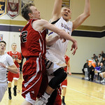 Vermilion's Cameron Kuhn drives past Firelands' Cole Sklarek. STEVE MANHEIM/CHRONICLE