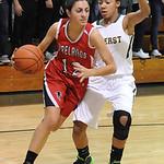 Firelands Alyssa Melendez moves past Amherst Sher Champe Nov. 25.  Steve Manheim