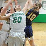 Columbia's Amy Mirecki goes for a rebound. STEVE MANHEIM/CHRONICLE
