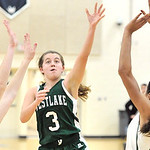 Westlake's Rebecca Essig drives to the basket against Lake Catholic. DAVID RICHARD / CHRONICLE