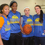 Lake Ridge seniors left to right – Kyndall Wellons, Monet Saunders, Sharday Baines & Sydney Clark.
