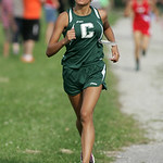 Cloverleaf runner Vanessa Rivera places 5th as her team wins 1st place victory in the PAC Icebreaker CC meet at Carlisle Reservation. photo by Ray Riedel