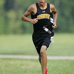 Tanner Hawley places 4th in the PAC Icebreaker CC meet  at Carlisle Reservation. photo by Ray Riedel