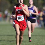 12Oct13_Anna Maxwell of Lutheran West defends her 12th place finish at the PAC championship. photo by Ray Riedel
