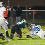 EC's Jerot Schill jumps on Justin Rankin's fumble for a touchdown and turns the momentum of the game. Ray Riedel