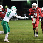 27SEP13_Jordan Connell is in the clear for a touchdown at Elyria High Stadium. photo by Ray Riedel