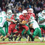 Jumarr Lewis breaks free on a touchdown run at Elyria High Stadium. Ray Riedel/Chronicle