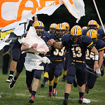 13SEP13_North Ridgeville players take to the field at North Ridgeville High School. photo by Ray Riedel