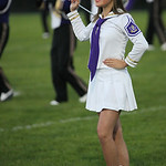 Kennedy Naill of the Vermilion majorettes, performs at halftime. photo by Ray Riedel