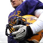 Avon senior linebacker Kevin Skotko Nov. 13.  Steve Manheim