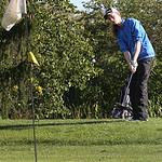 Kaitlin Neumann of Avon pitches the ball onto the green during the Avon vs. Avon Lake match.