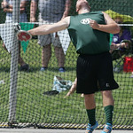 Medina's Mike Hierholzer places 5th in the discus at the OHSAA state championship. photo by Ray Riedel