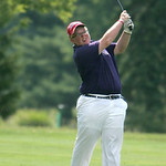 Ryan Voelker of Keystone from the rough at the Pioneer Invitational at Forest Hills Country Club.  photo by Chuck Humel