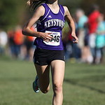 12Oct13_Keystone freshman Jena Copley finishes 3rd at the PAC championship. photo by Ray Riedel