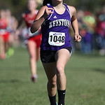 12Oct13_Keystone sophomore  Erin Hostal finishes 10th in the PAC championship. photo by Ray Riedel