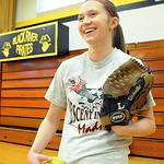 Dagmar Smith of Black River softball on Mar. 20.  Steve Manheim