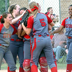 Elyria celebrates winning the game.