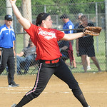 Red All -Star pitcher Samantha Dostall June 11.   Steve Mnaheim