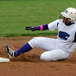 Keystone's Sammie Stefan steals second base. STEVE MANHEIM/CHRONICLE