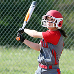 Elyria's Mackenzie Phares gets a base hit against Avon in the third inning. ANNA NORRIS/CHRONICLE