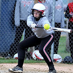 Firelands' Rachael Minek bats against Clearview. KRISTIN BAUER | CHRONICLE