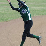 Elyria Catholic's Sammy Filiaggi catches a fly ball.