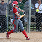 Elyria's Anna Daly get a hit. CHRISTY LEGEZA/CHRONICLE
