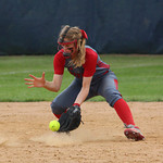 Elyria shortstop Carly Bachna gets an out in the fifth inning. CHRISTY LEGEZA/CHRONICLE