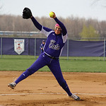 Keystone's Lauren Shaw pitches. CHRISTY LEGEZA/CHRONICLE