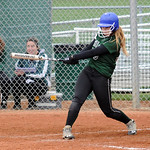 Westlake's Rachel May hits a three-run homer. STEVE MANHEIM/CHRONICLE