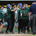 Westlake celebrates Katie Nagel's home run against Vermilion. KRISTIN BAUER | CHRONICLE