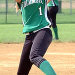 Columbia pitcher #1 Kailey Minarchick.