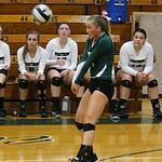Elyria Catholic's Sarah Schuckman makes the play against Brookside. CHRISTY LEGEZA/CHRONICLE
